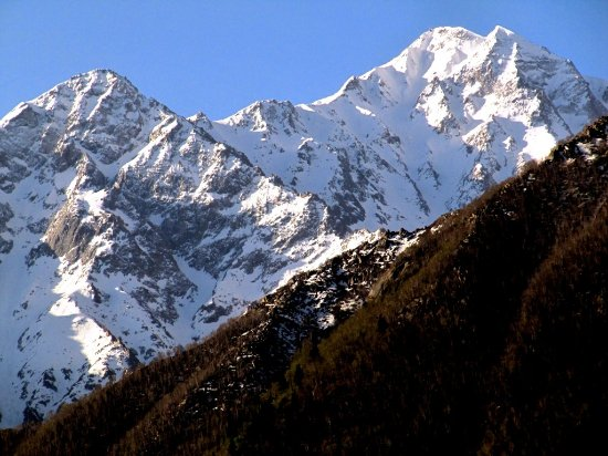 Sangla, India: from my hotel room