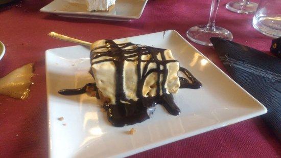 Valsain, Spain: tarta de de dulce de leche