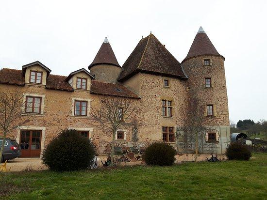 Saone-et-Loire, Francia: Vue côté route