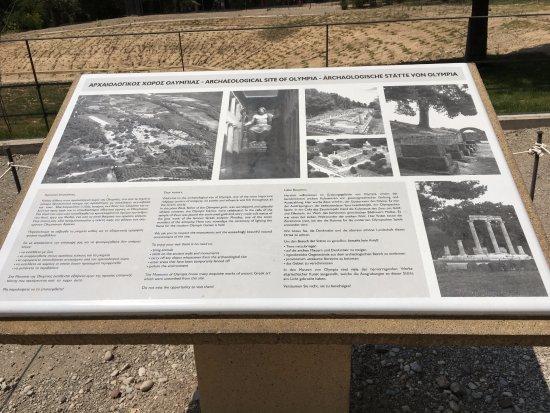 古奧林匹亞遺址照片