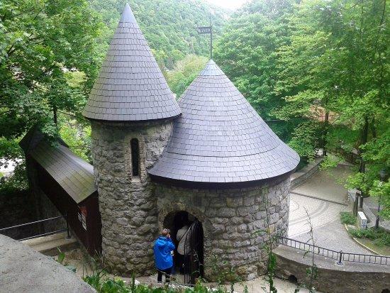 Lillafured, المجر: Barlang bejárat