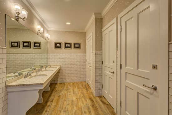 Harbor Springs, MI: Our beautiful restrooms help make your visit to the Lyric a memorable one.