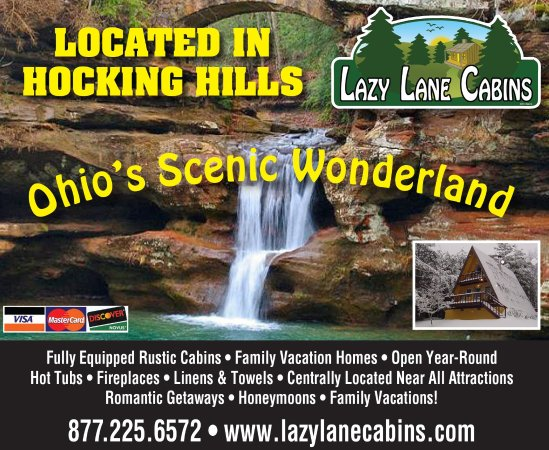 Hidden Cave Review Of Lazy Lane Cabins Logan Oh