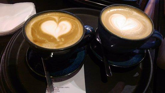 Brownes: Delicious coffee!