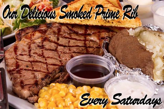 Umatilla, OR: Areas Best 10oz Smoked PRIME Rib!