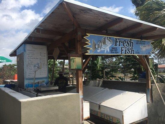 Out da sea bar grill freeport restaurant reviews for Bahamas fish market
