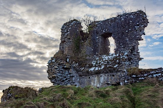 Ballygawley, Irlanda: Unfortunately this is all that remains of Castle Dargin