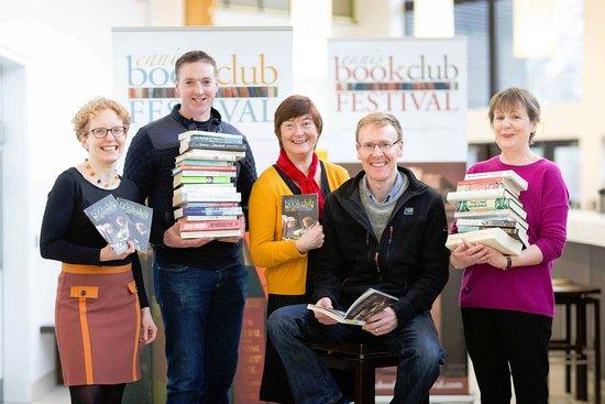 เอนนิส, ไอร์แลนด์: Team behind the great Ennis Book Club Festival - first weekend in March every year