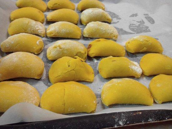 Fabbrico, Italien: Tortellini!