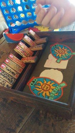 Gatehouse Villa: Games at Tony's Hut
