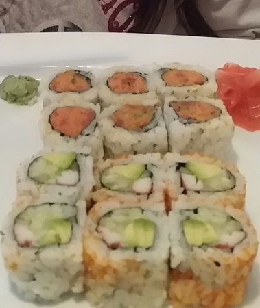 Chester, Nueva Jersey: Sushi Rolls