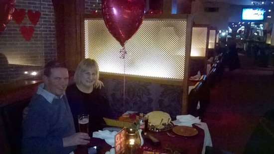 Loughton, UK: valentines day meal !