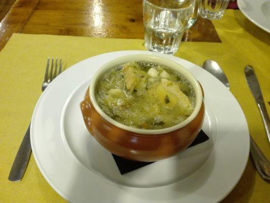 Pennabilli, Italien: Ribollita toscana