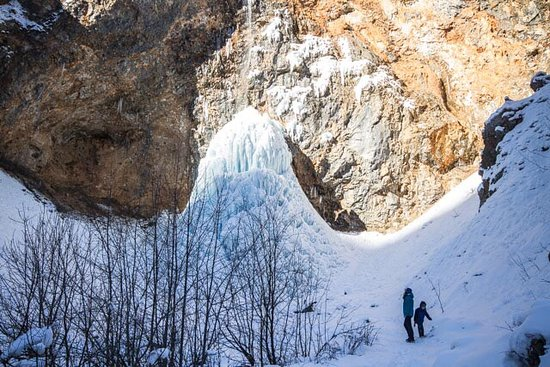 Solcava, Slovenien: Don't miss the walk to the waterfall!