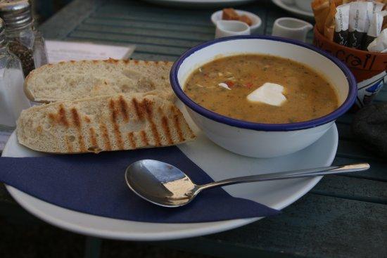 Crail, UK: Thai Chicken Chilli Soup