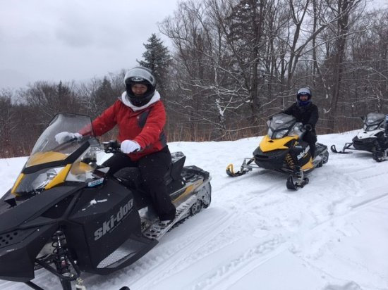 Bartlett, NH: Snowmobile tour