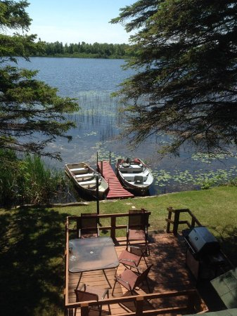 Trout Lake, MI: The Twin Cedars Resort