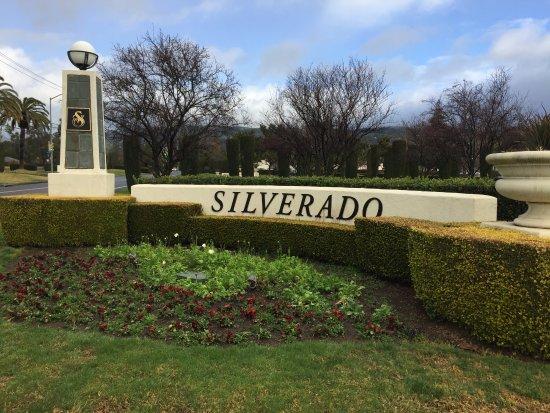 Silverado Resort and Spa: Entrance Gate