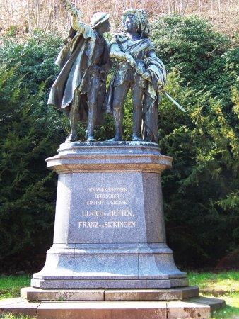 Bad Munster am Stein-Ebernburg, Tyskland: Statue