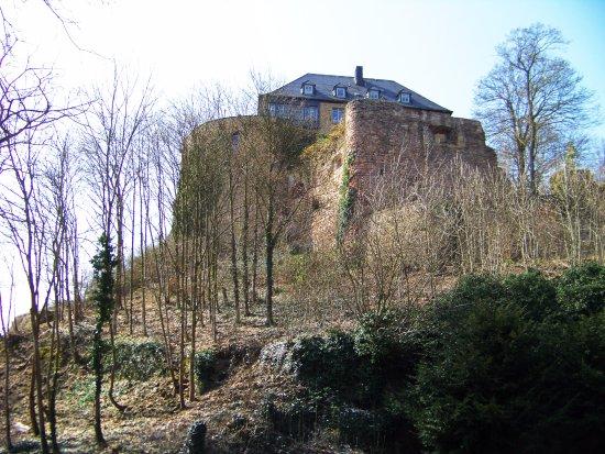 Bad Munster am Stein-Ebernburg, Niemcy: Burg