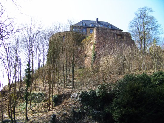 Bad Munster am Stein-Ebernburg, Tyskland: Burg