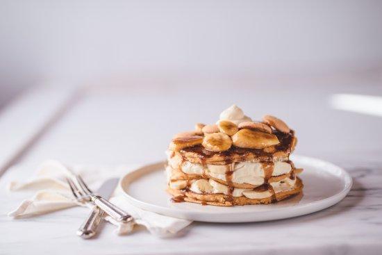 Johnson City, TN: Banana Pudding Layered Pancakes