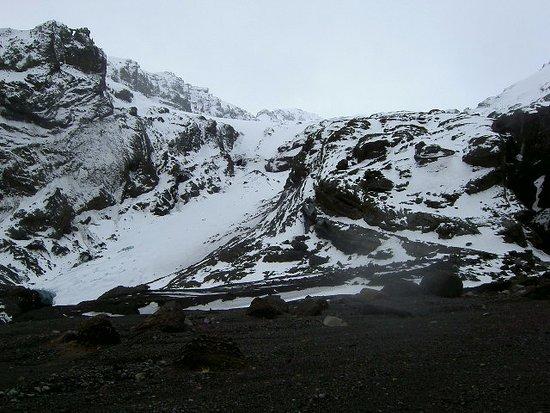 Hvolsvollur, Iceland: Glacier on Eyjafjallajökull