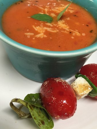 Williamson, Δυτική Βιρτζίνια: Tomato Basil Soup