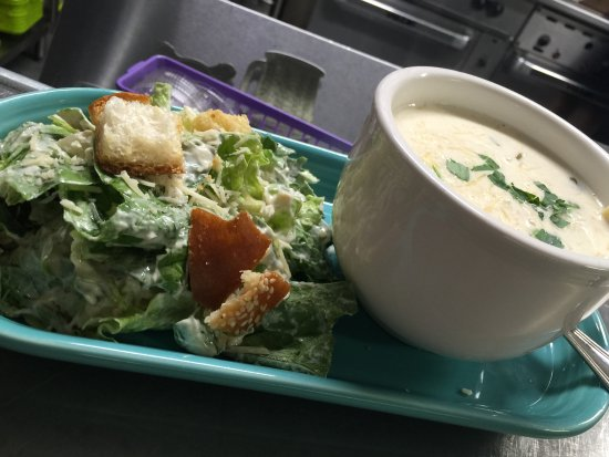 Williamson, WV: Caesar Salad & Alfredo Soup