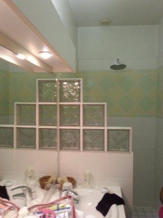 Hostellerie de Bretonniere: salle de bains