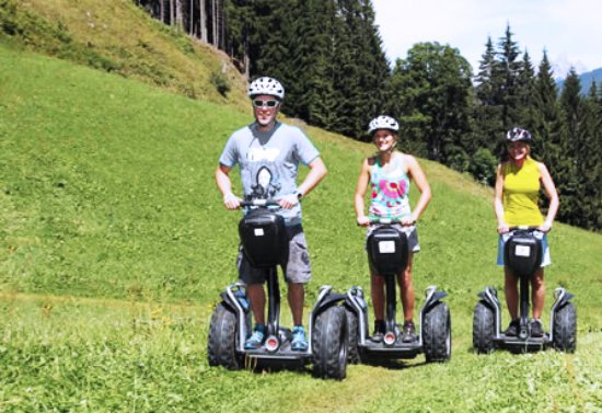 Hermann Maier Adventures: Segway door Flachau