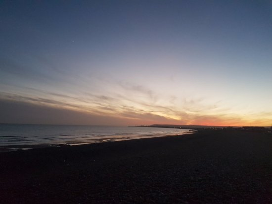 Pevensey, UK: sunset