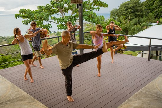 Pavones, Costa Rica: Small group retreats to maintain the highest quality of personalized tai chi instruction.