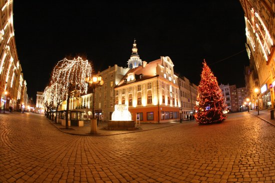 Swidnica, Polen: Wieża ratuszowa
