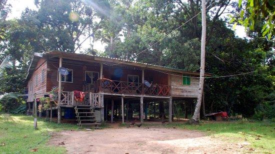 Sukau, Malaysia: The family house