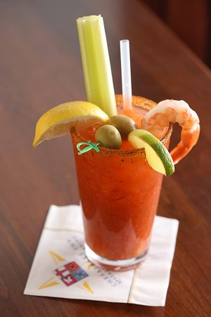 Chesapeake City, MD: House-made Bloody Mary