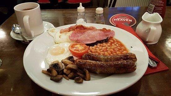 Corwen, UK: All day breakfast