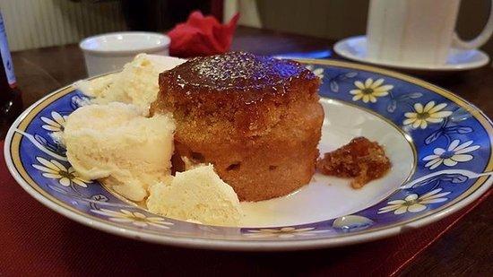 Corwen, UK: Sticky toffee pudding