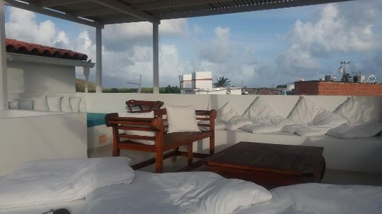Villa Caracol: terraza