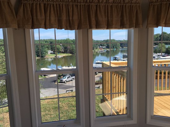 Lake Norman Motorcoach Resort View From Tiny House Living Room