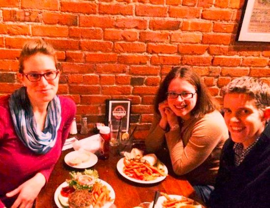 Troy, NY: Brown's Brewery with Friends!