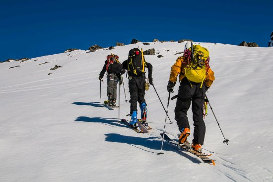 Imlil, Marokko: Ski touring in Morocco 8 Days, 5 Day Toubkal ski touring in Morocco