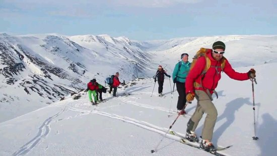 Imlil, Marokko: Ski touring Toubkal High Atlas Mountains 8 days, Ski Touring Toubkal 6 DAY