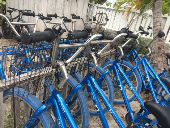 Hope Town, Elbow Cay: Rental Bikes