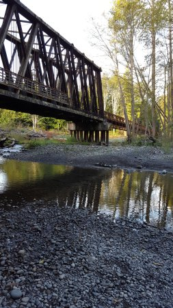 เซแกง, วอชิงตัน: Wonderful walking bridge