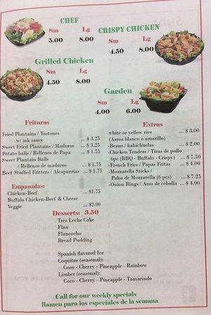 Pittsfield, MA: Roman's Restaurant and Cuchifrito