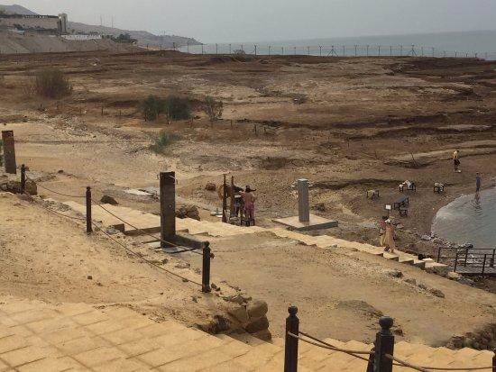 Kempinski Hotel Ishtar Dead Sea: Kempinski Dead Sea - private beach