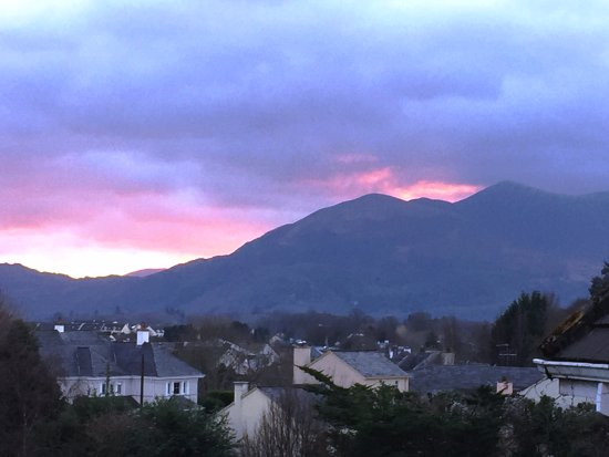 The Killarney Park Hotel: view off our balcony