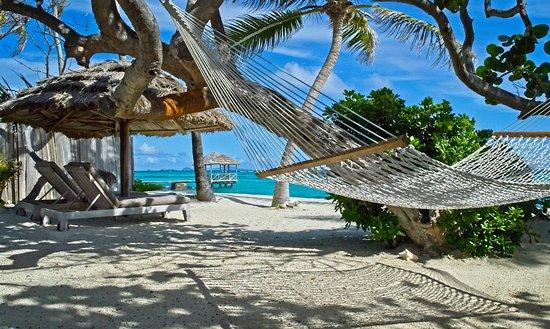 Petit St.Vincent: chaises and hammock