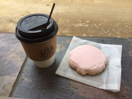 Ely, MN: The infamous Pink Cookie!